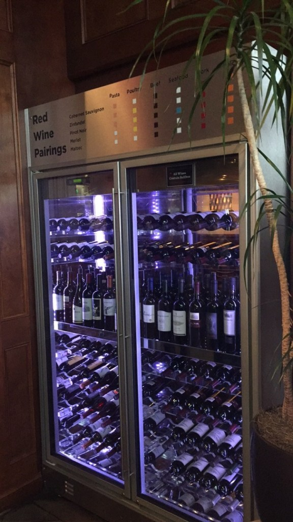 One of the wine fridges.