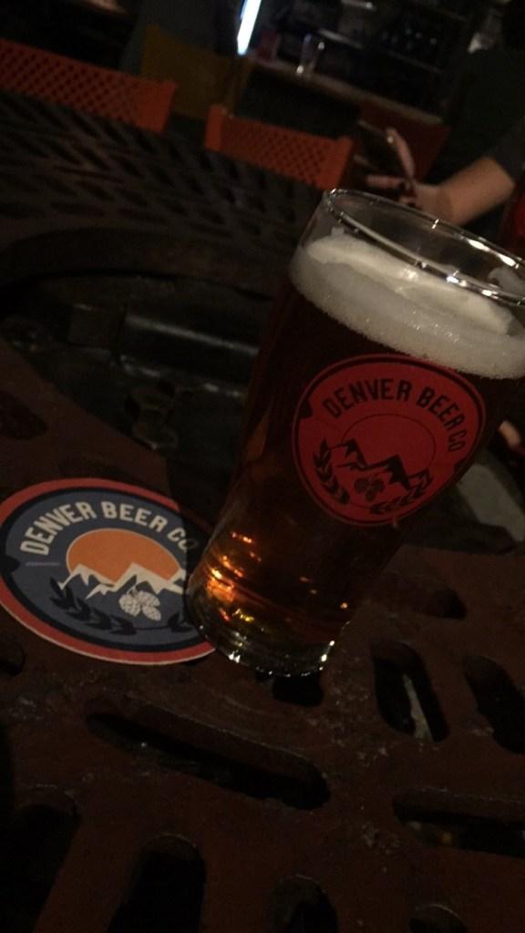 Denver Beer Co Beer