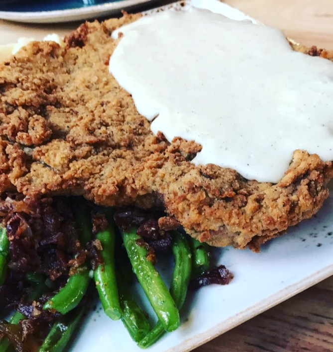 Chicken fried steak from State Fare.