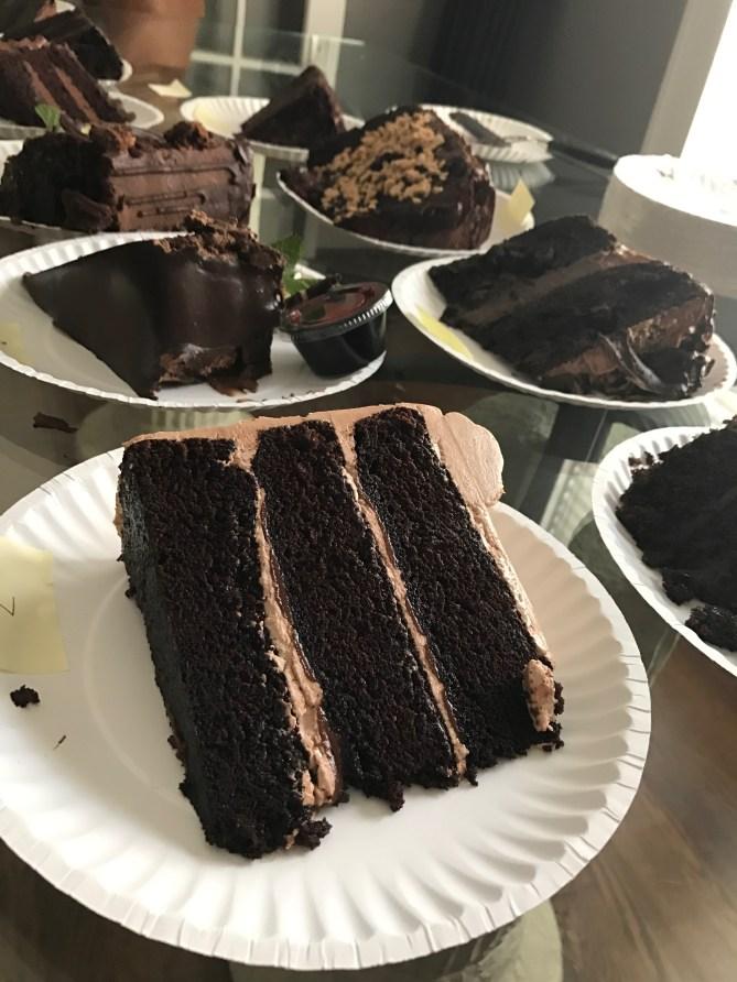 The Nutella Chocolate Cake!