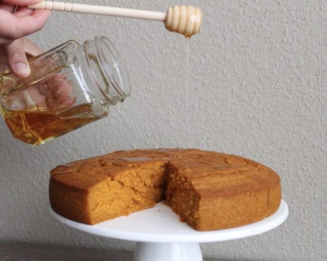 Sweet Potato Honey Cornbread Recipe-6