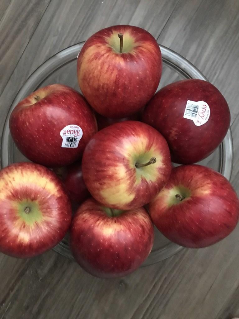 Bowl of Envy Apples