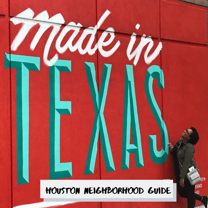 Houston Neighborhood Guide Pt 1