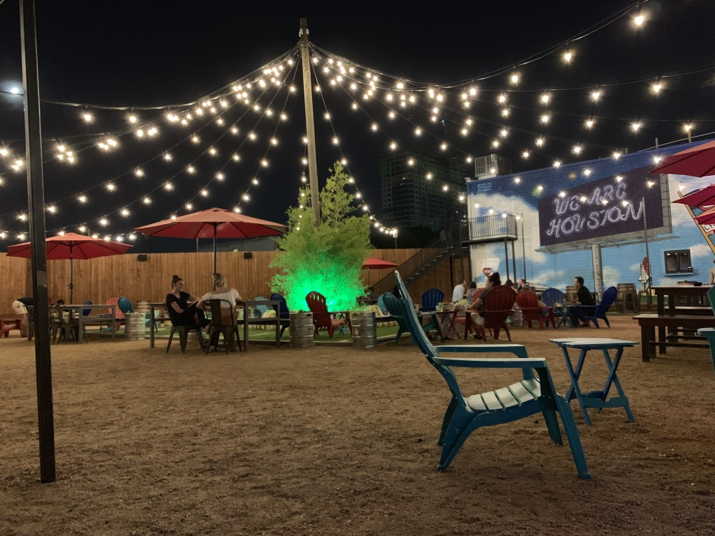 THE Houston Itinerary- Social Beer Garden