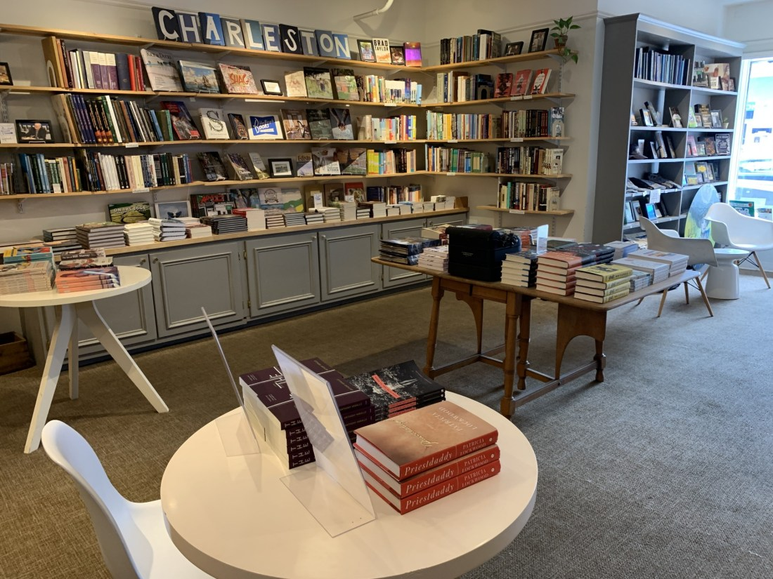 Inside Blue Bicycle Bookstore