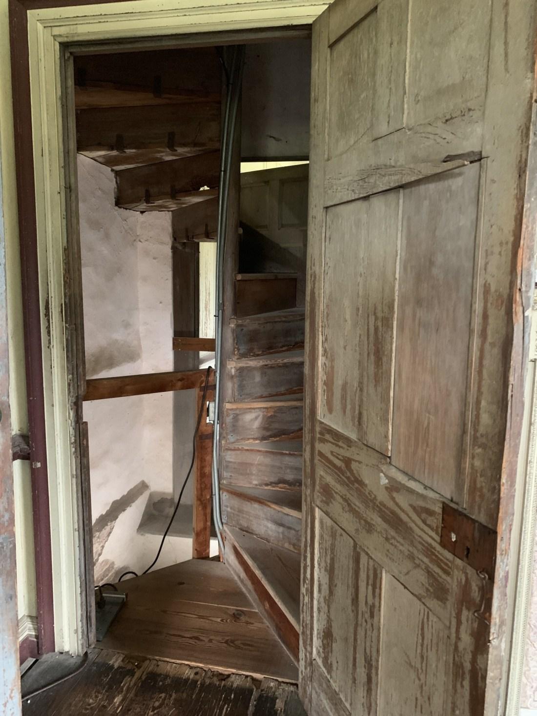 Interior Stairwell Drayton Hall