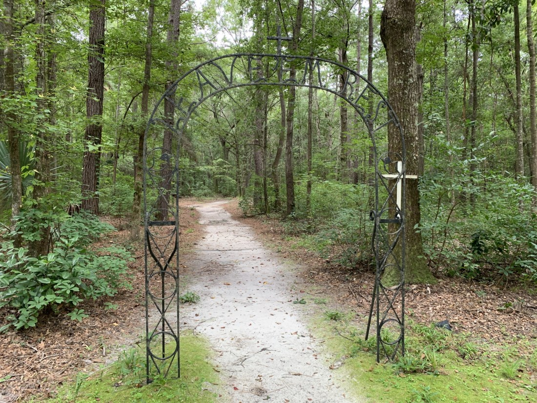 Entrance to African American Cemetery at Drayton Hall