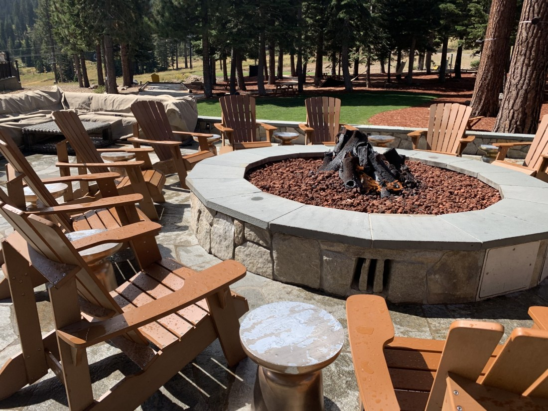 Fire Pit -Ritz Carlton Tahoe