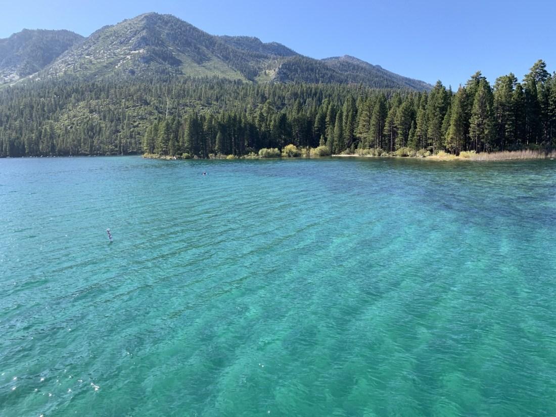 Lake Tahoe's Green Water