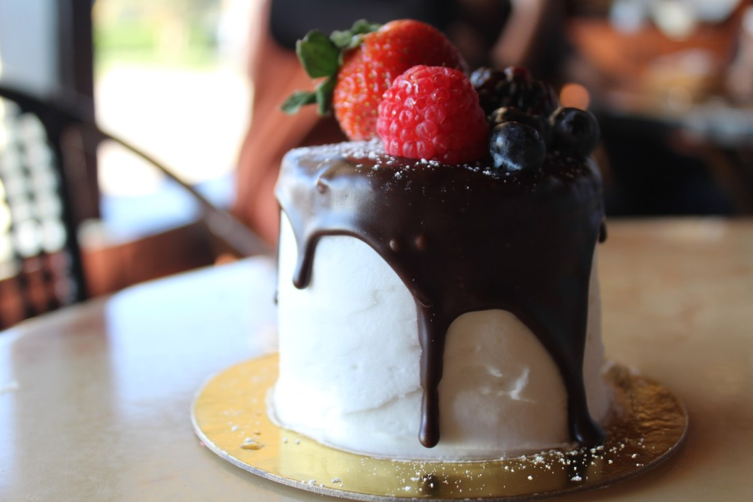 Mini cake from Rao's Bakery