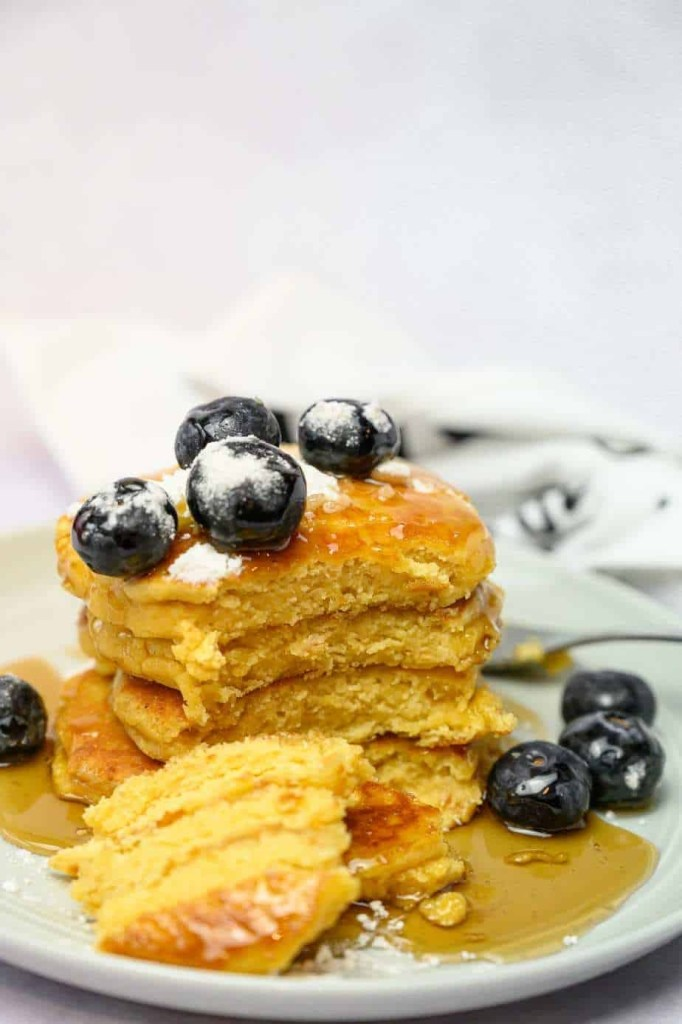 Almond Floud Pancakes