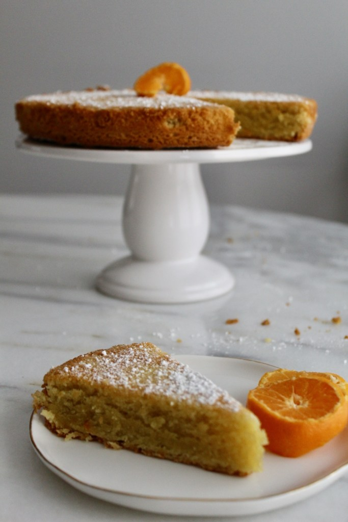 Almond Flour Olive Oil Cake