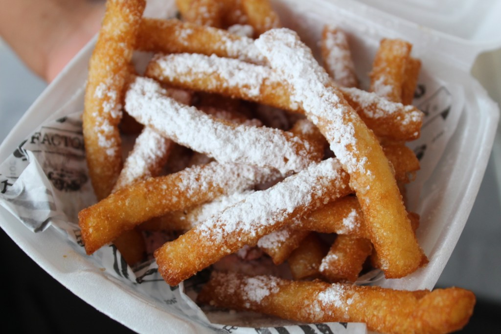 The Original Hot Dog Factory Houston Funnel Cake Sticks