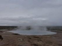 Geyser Erupts Iceland