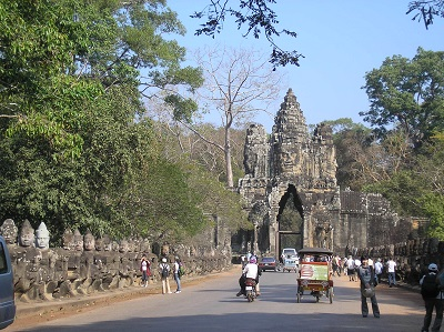 Angkor-entrance