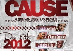 A Concert For A Cause - December 2012 - Dontavies Boatwright
