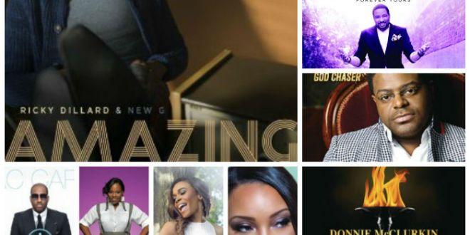 Week of November 1, 2014 Billboard Top Gospel Songs Chart