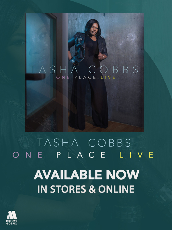 Buygospelmusic One Place Live By Tasha Cobbs