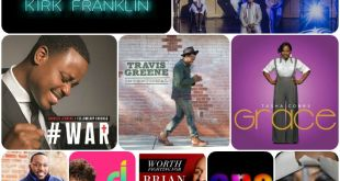"""Billboard Hot Gospel Songs Chart for Week of September 19, 2015. """"Wanna Be Happy"""" by Kirk Franklin at #1"""