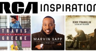 RCA INSPIRATION CELEBRATES MULTIPLE NOMINATIONS FOR THE 2016 BILLBOARD MUSIC AWARDS   Kirk Franklin, Marvin Sapp, and Travis Greene Receive Seven Total Nominations