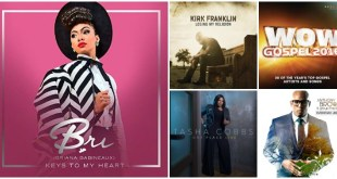 FIVE of the Top Selling Gospel Albums! Which TWO are your favorites this week?