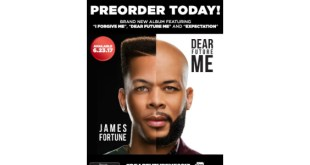 "JAMES FORTUNE Returns With New Album ""DEAR FUTURE ME 