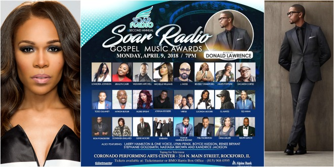 Donald Lawrence & Michelle Williams Will Host The 2nd Annual SOAR Radio Awards
