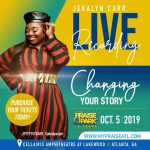Jekalyn Carr Announces Album Title, Praise 102.5FM 15th Annual Praise In The Park Live Recording, Oct 5 in Atlanta