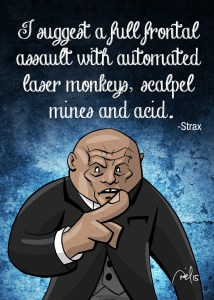 """Strax"" from Doctor Who"