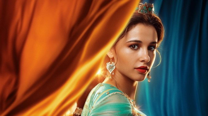 """Discover the beauty of Middle Eastern women through the image of Jasmine in the movie """"Aladdin"""""""