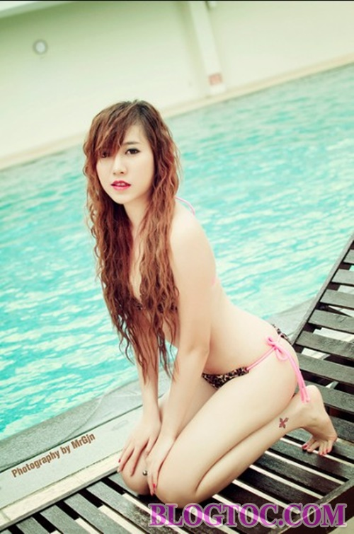 How to take care of long-lasting shiny hair when going to the beach or swimming 2