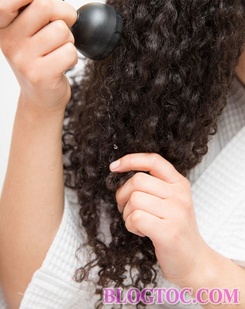 How to keep curly hair without simple drying at home 6