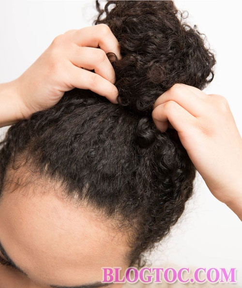 How to keep curly hair without simple drying at home 8