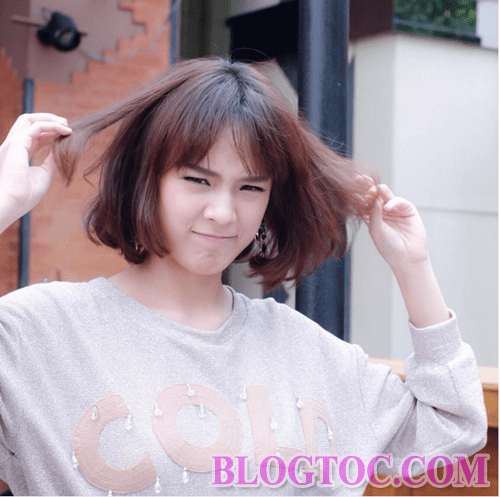 How to take good care of bangs when damaged bangs are not in line 5