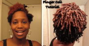 finger coils easy styling options