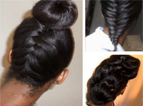 Hairstyle Ideas For Long Relaxed Hair Or Flat Ironed Natural Hair