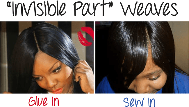 "How To Do ""Invisible Part"" Weaves Two Methods Of Installation"