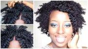 shiny twist 4c natural hair