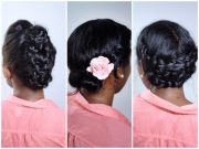 3 quick and easy updos shared