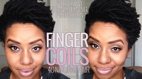 How To Do Finger Coil On 4c Natural Hair