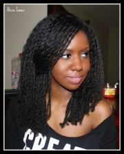 loose two strand twists styles