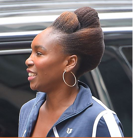 She Slayed That Venus Williams Debut S A Totally Cute Natural