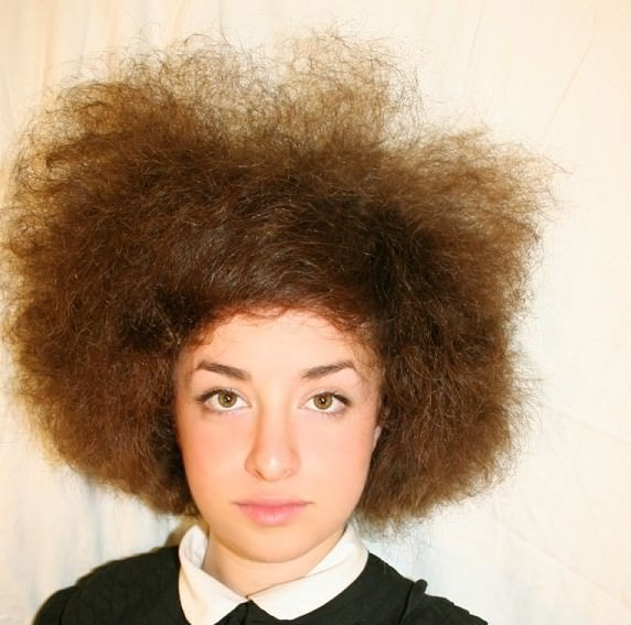 Can Caucasian Hair Be Transformed Into Kinky Curly Hair A Real