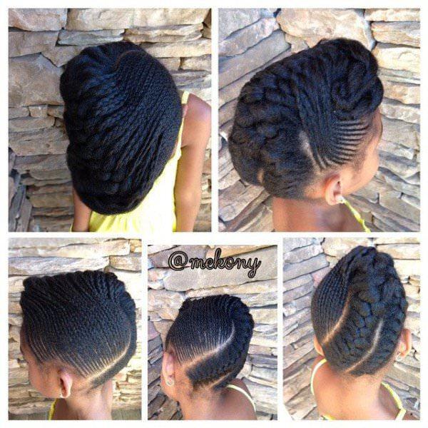 Great Kids Style Mekony Black Hair Information