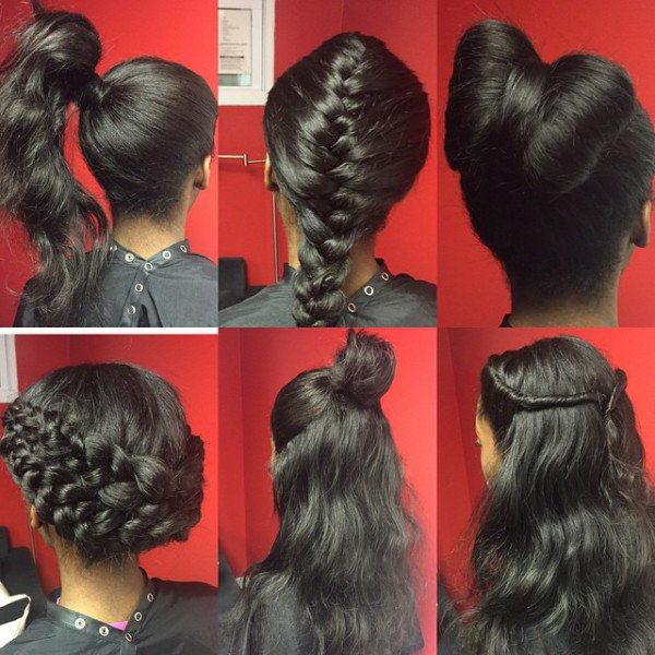 This Sew In Is Truly Versatile Black Hair Information