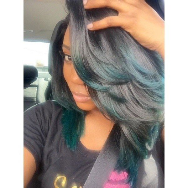 Full And Bouncy Sew In Black Hair Information