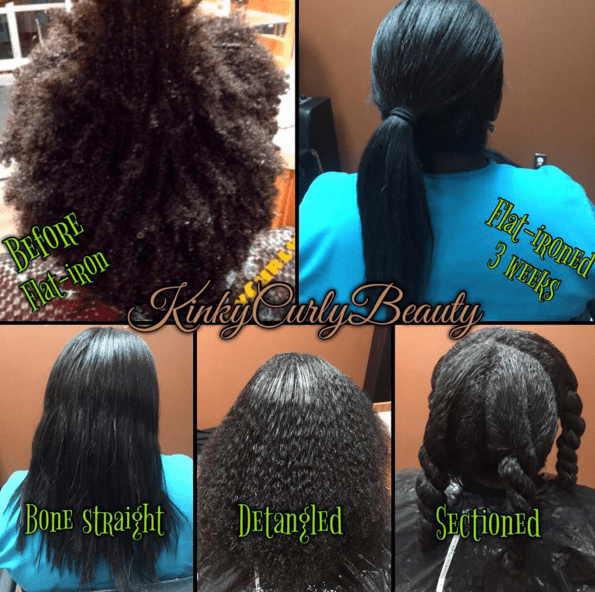 Stages kinkycurlybeauty  Black Hair Information