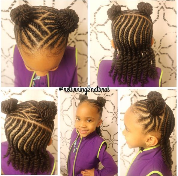 9 Cute Protective Styles From Returning2Natural Perfect