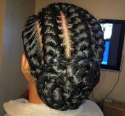 jumbo cornrow braids