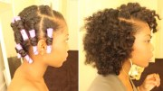 flat twist dry natural hair